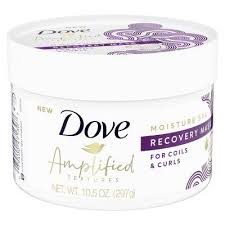 Haircare with Dove Beauty Moisture Recovery Mask